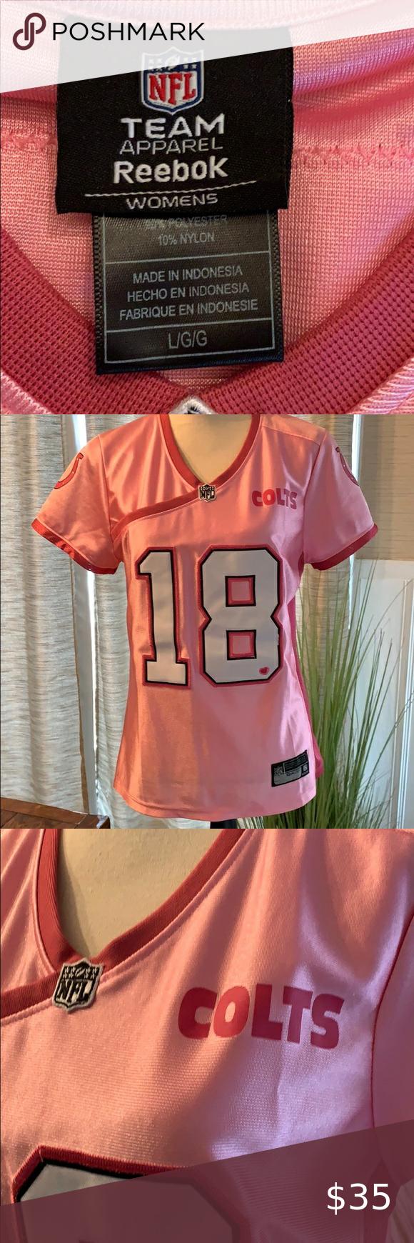 pink peyton manning jersey