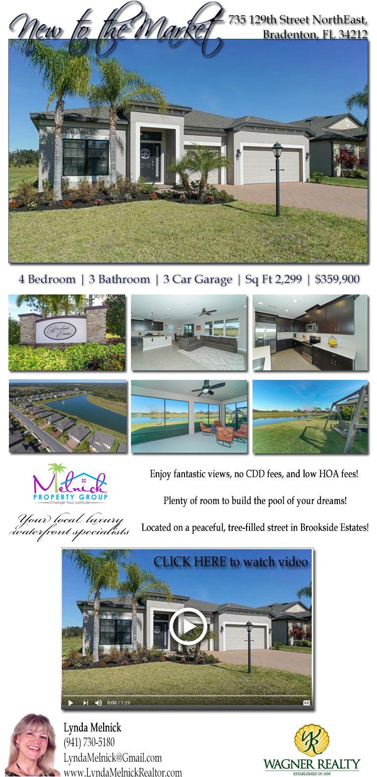 New to the market! 735 129th St NE, Bradenton, FL. A