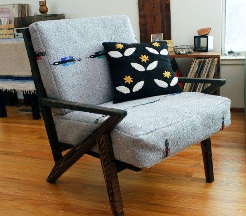 Eye Catching Mid Century Modern Lounge Chair U S A 1960s Mid