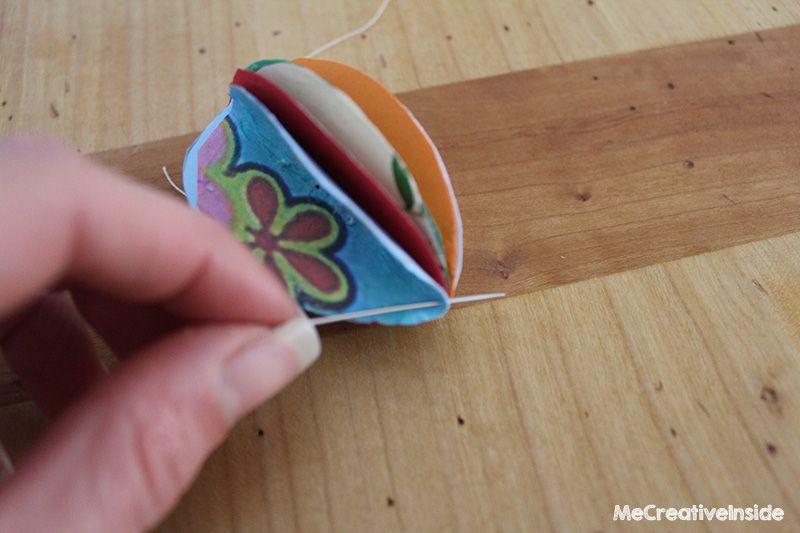 ovetti di carta pasqua tutorial diy ME creativeinside