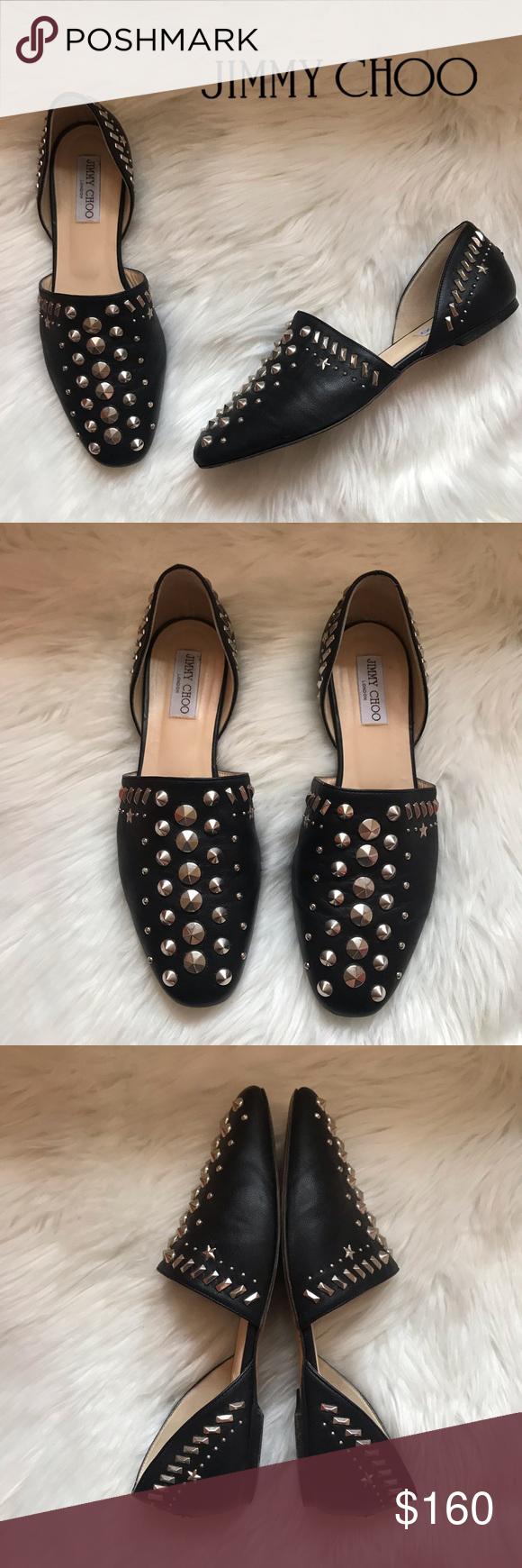Jimmy choo shoes flats, Studded flats