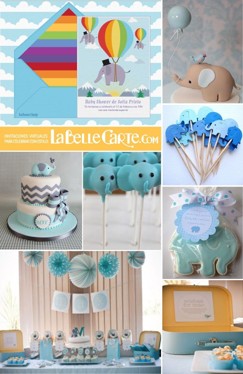 invitaciones para baby shower e ideas para decorar un baby shower de