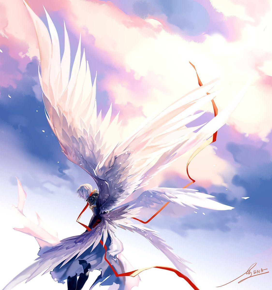 에나 on Twitter  Anime angel, Anime, Fantasy artwork
