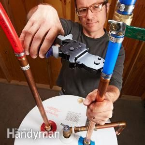 Pex supply pipe everything you need to know home for Pex pipe for hot water heating