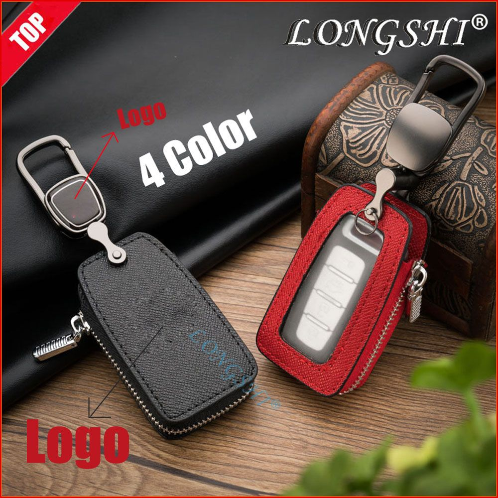Leather Car Key Holder Cover Key Wallet Key for BMW Buick