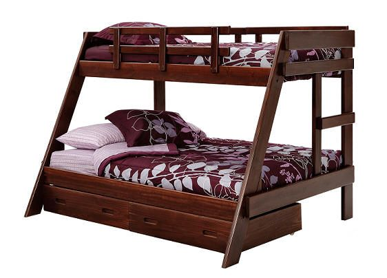 Bunk Beds With Queen Bottom And Twin Tops Bunk Beds Our Super