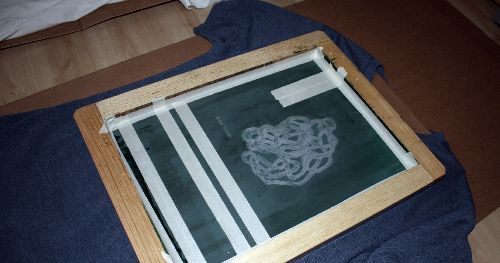 screen printing. hmmm, something else i'd love to try one day...