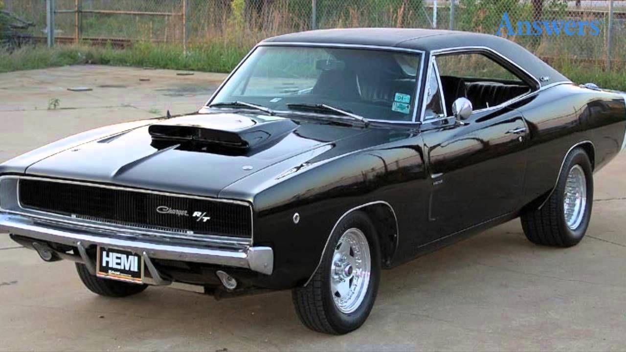 Top Ten Muscle Cars Of The 60's And 70's