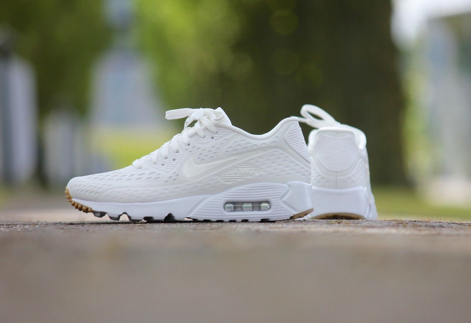 huge selection of 0db9a 00fe9 Nike Air Max 90 Ultra BR Summit White-Gum - 725222-100