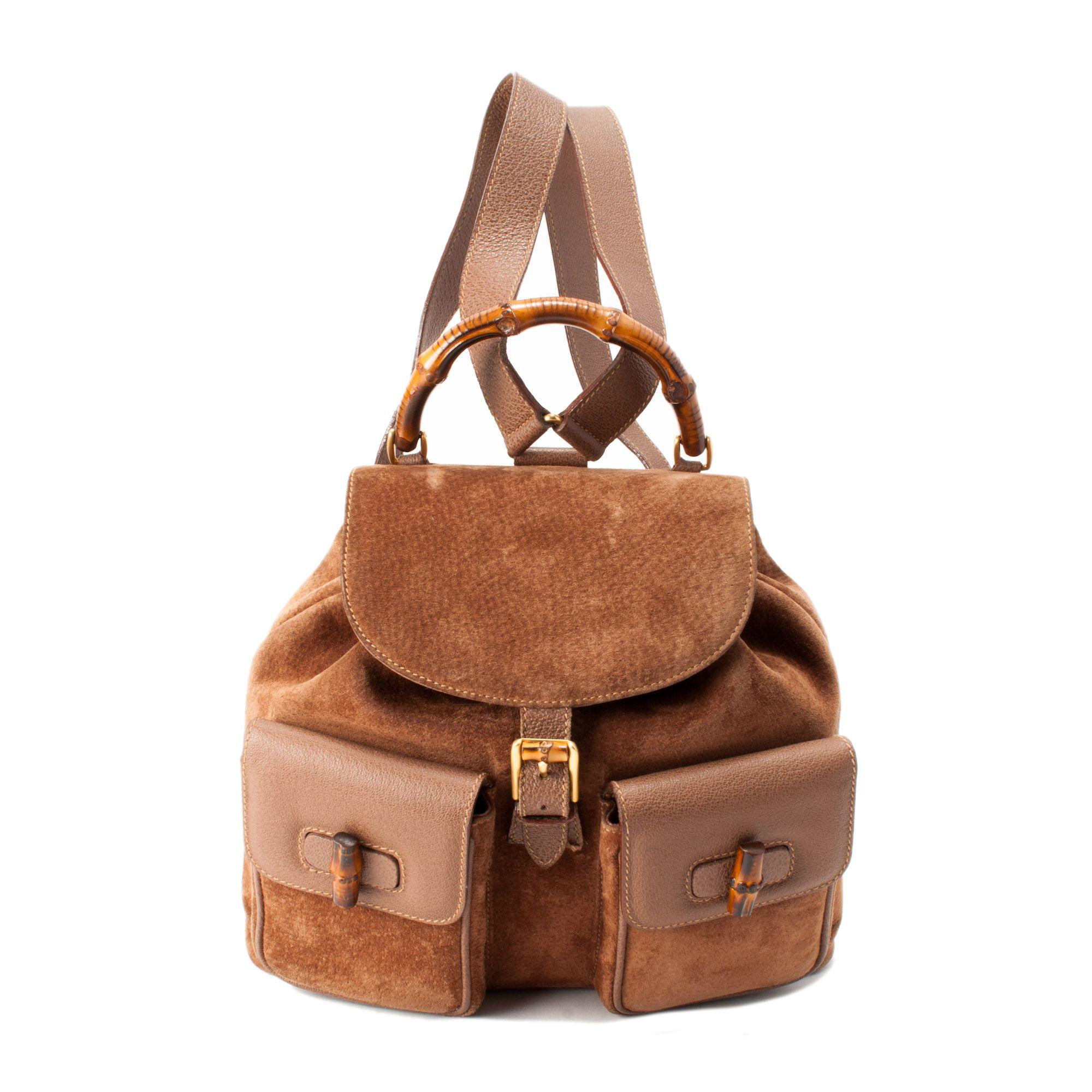 f066e2ba132f Gucci Bamboo Backpack