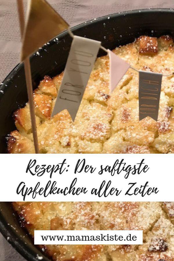 Rezept: Der saftigste und einfachste Apfelkuchen aller Zeiten - mamaskiste.de