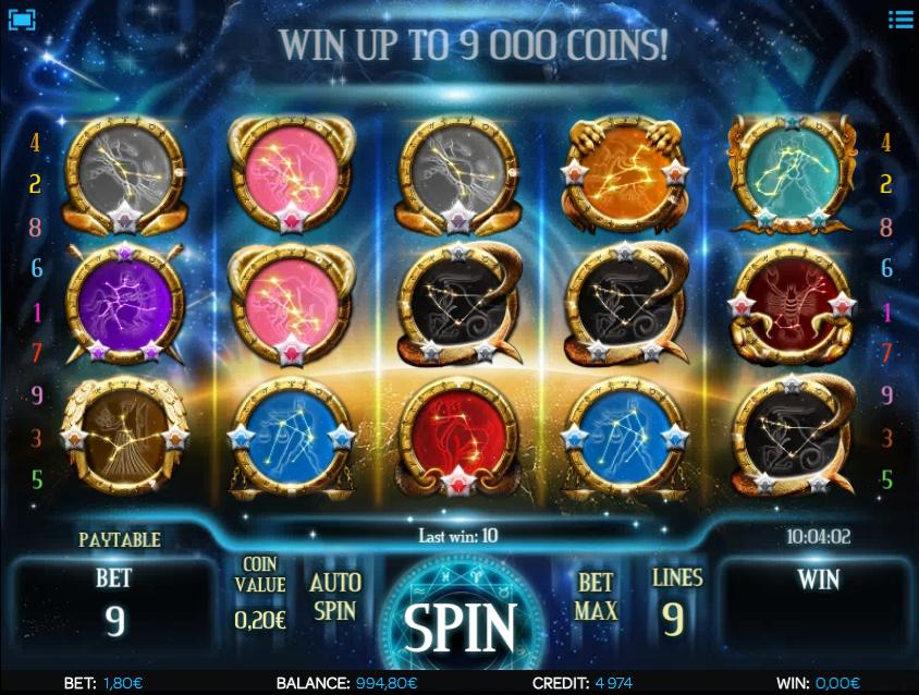 Astro Magic Slot Machine