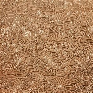 Textured Metal Sheets Copper Floral Waterfall Cool Tools Metal Working Copper Diy Metal Working Projects