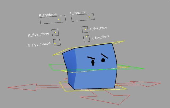 Johnny The Box for Maya | Things to Animate | Character rigging