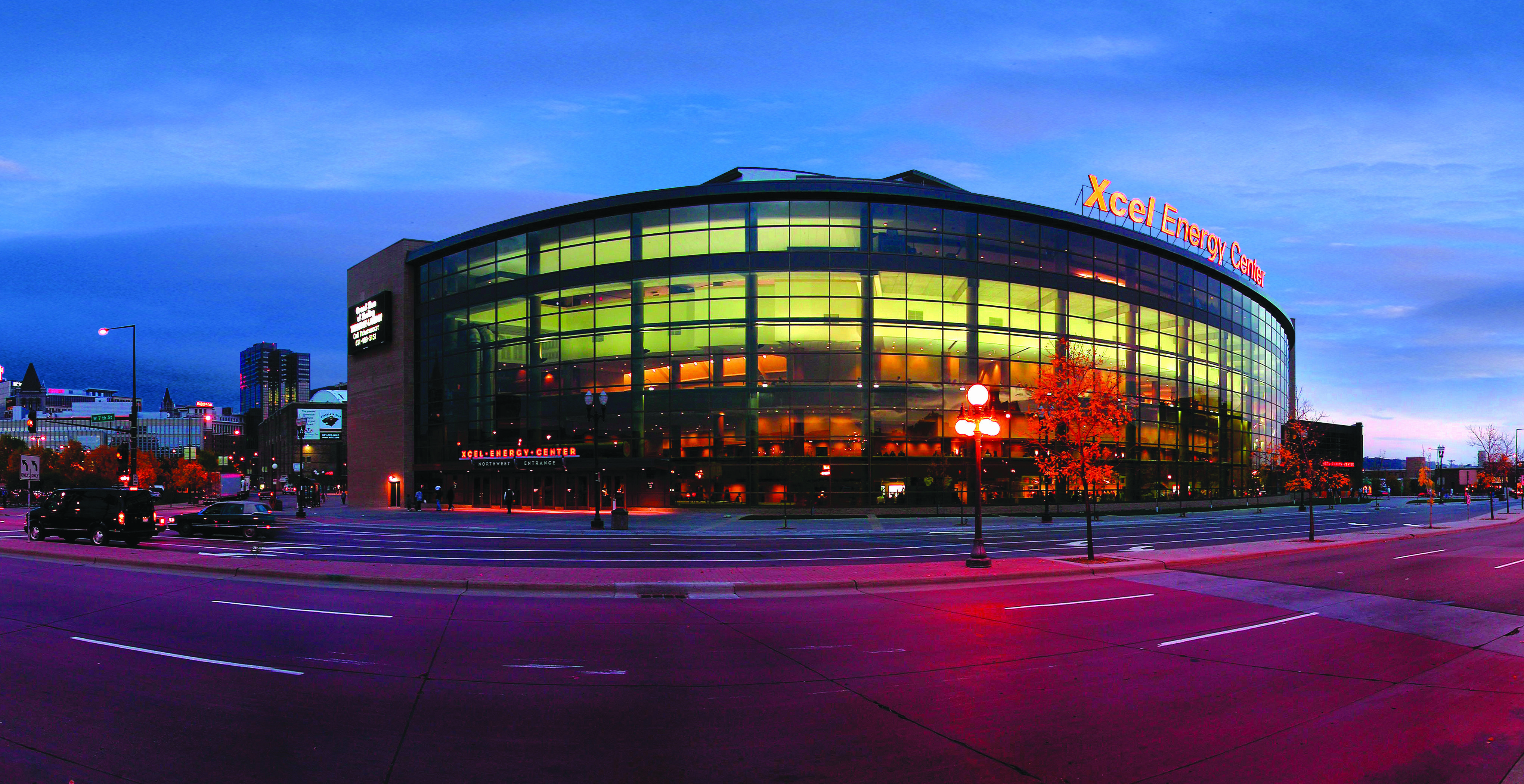 Xcel Energy Center In Saint Paul Minn Minnesota Wild Hockey