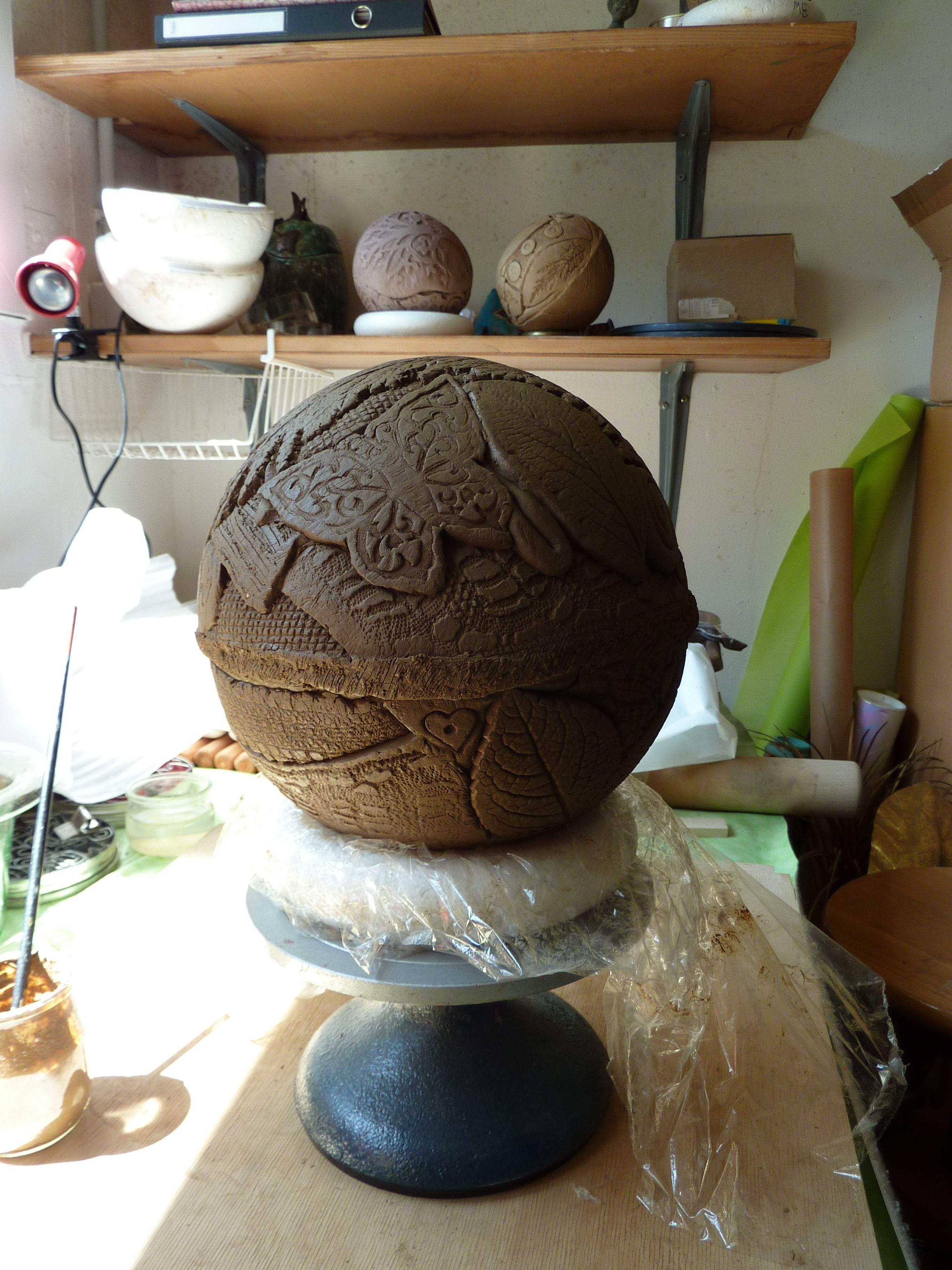 poterie artisanale photo pinterest artisanales poterie et boule. Black Bedroom Furniture Sets. Home Design Ideas