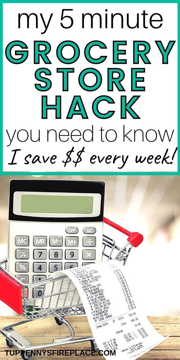 My 5 Minute Grocery Store Hack That Will Save You Money | Tuppennys Fireplace