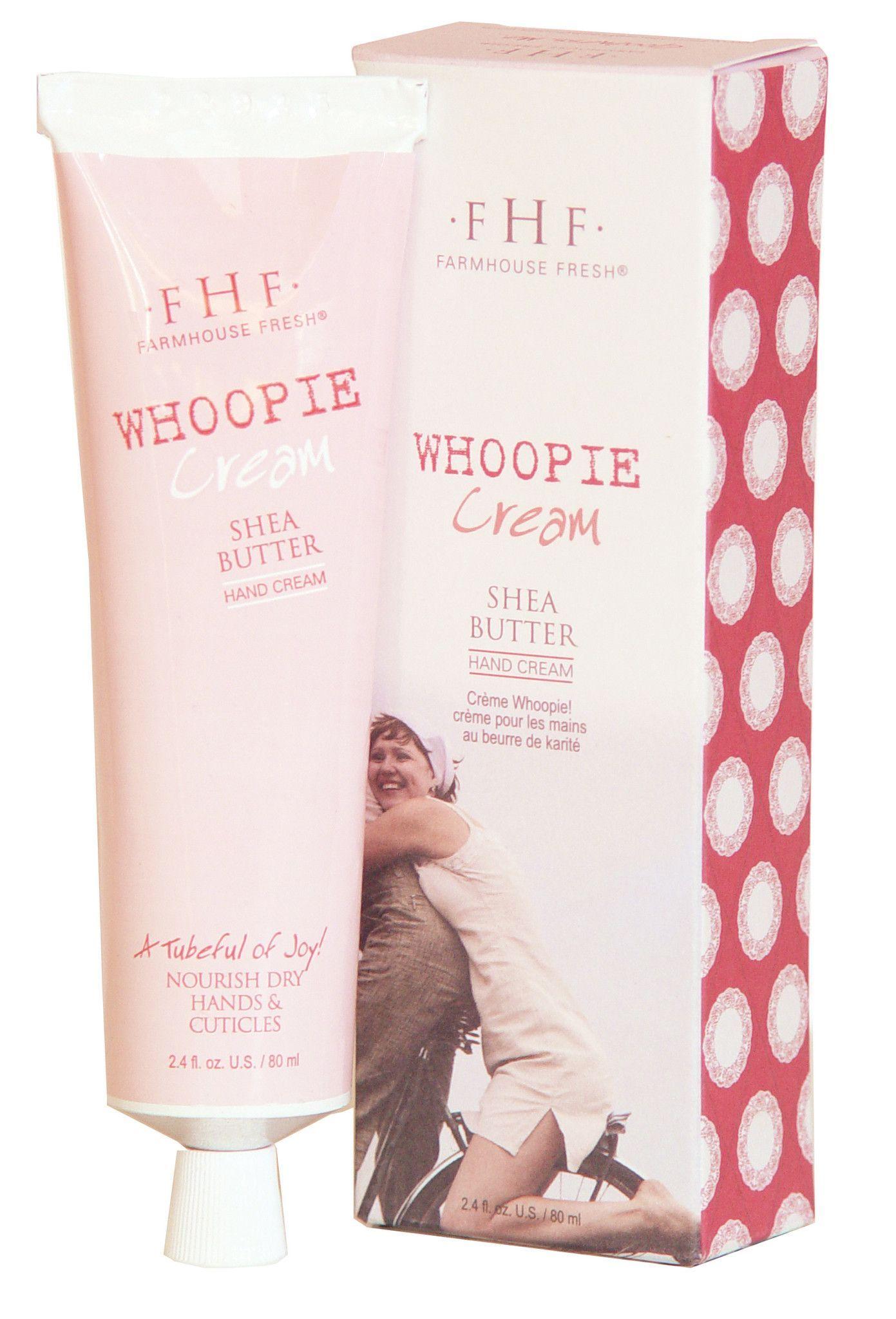Farmhouse Fresh Whoopie! Shea Butter Hand Cream Shea