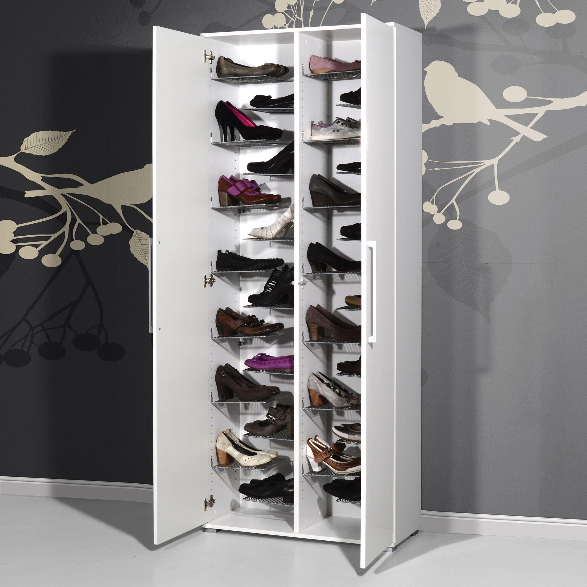 impressionnant meuble a chaussures grande capacite
