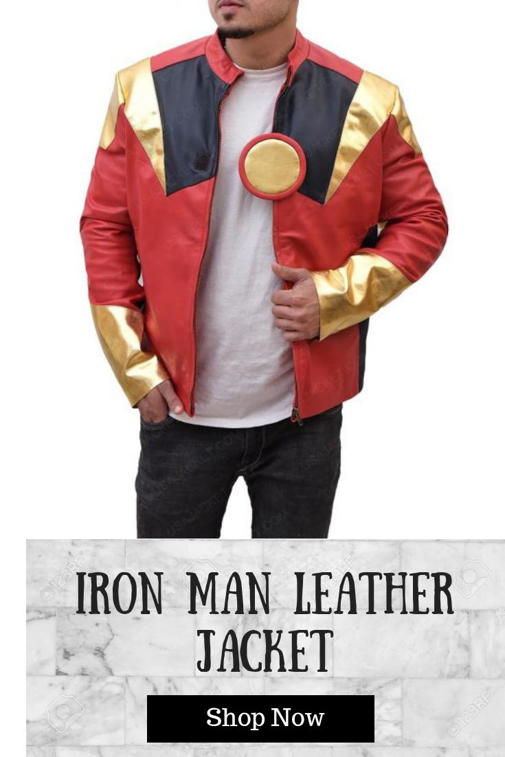 Robert Downey Jr Iron Man Jacket Leather Jacket Shopping Men S Leather Jacket Leather Jacket