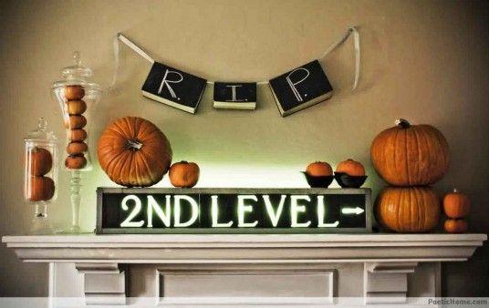 Halloween Indoor Design Halloween Pumpkin Pinterest - halloween indoor decorating ideas