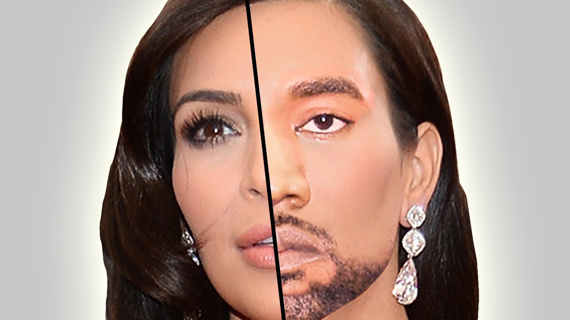 13 Terrifying Celebrity Face Swap Transformations Face