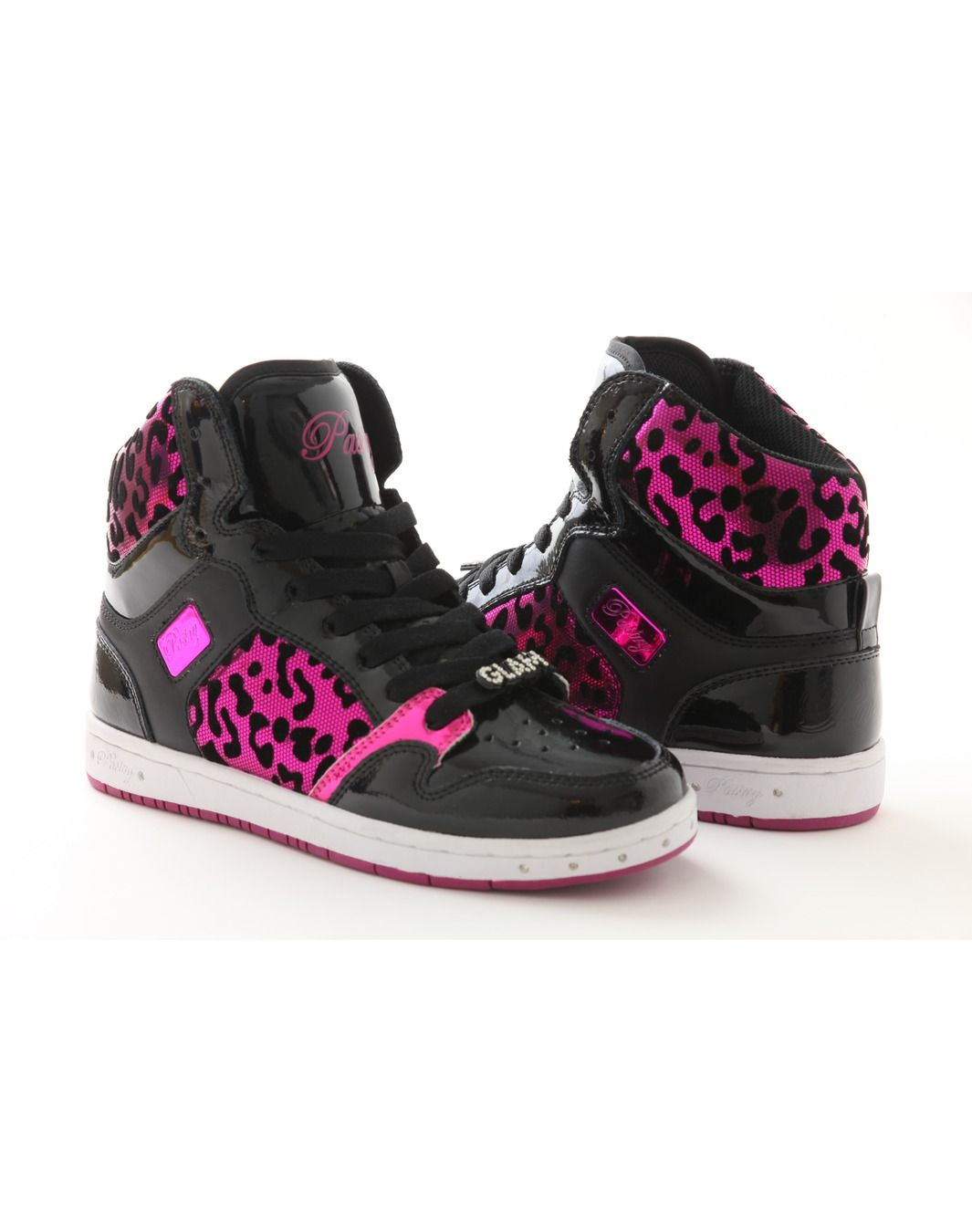 Footwear Glam Pie Foil Cheetah Pink Official Pastry Shoes By Vanessa And Angela