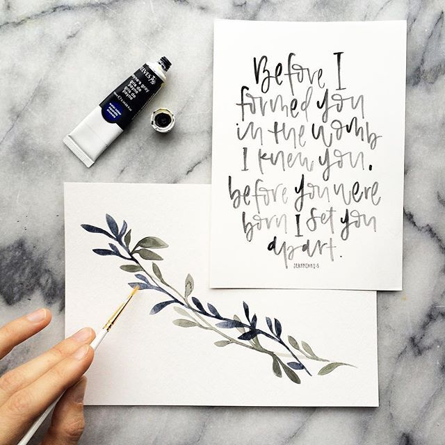 Happy #followfriday // Continuing this little tradition to share some of the beauty that fills my feed daily, and to celebrate the sweet friends I've made along the way // @claraepark // Clara's work is delicate, clean and bright. And just so full of hope and light. This beautiful print is from her, and it's one of my favorite things on my painting desk. Such a delight! Happy #friyay friends, I hope you enjoy her feed as much as I do✨👌🏼 #suchacoolcommunity