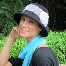 City Girl Brim Hat--made for big heads like me.