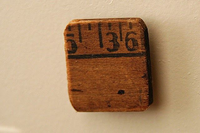 yardstick magnets by Mamie Jane's