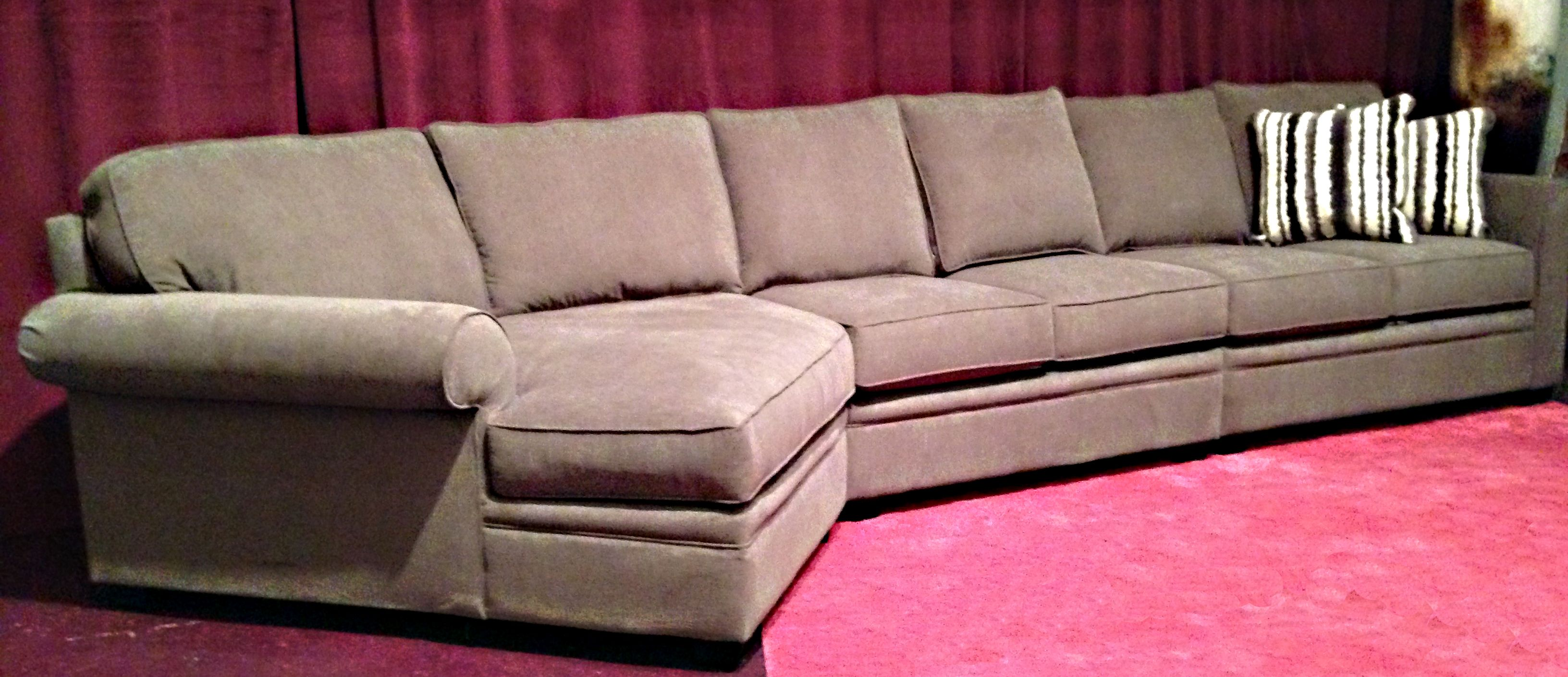 Saskatoon Furniture The BERKLEY sectional has an amazing cuddle
