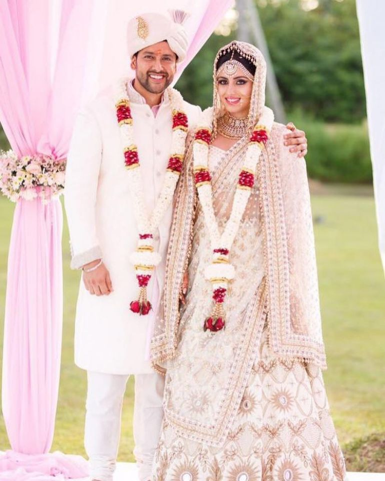 Real Indian brides show us how to wear White lehengas | Indian wear ...