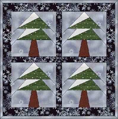 Free Paper Pieced Quilt Patterns Christmas.Forestquilting Com For Some Free Paper Pieced Quilt Block