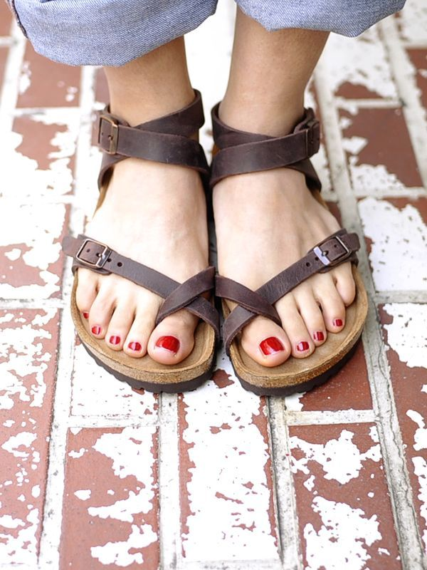 Cute Birkenstocks The Covered Foot Pinterest
