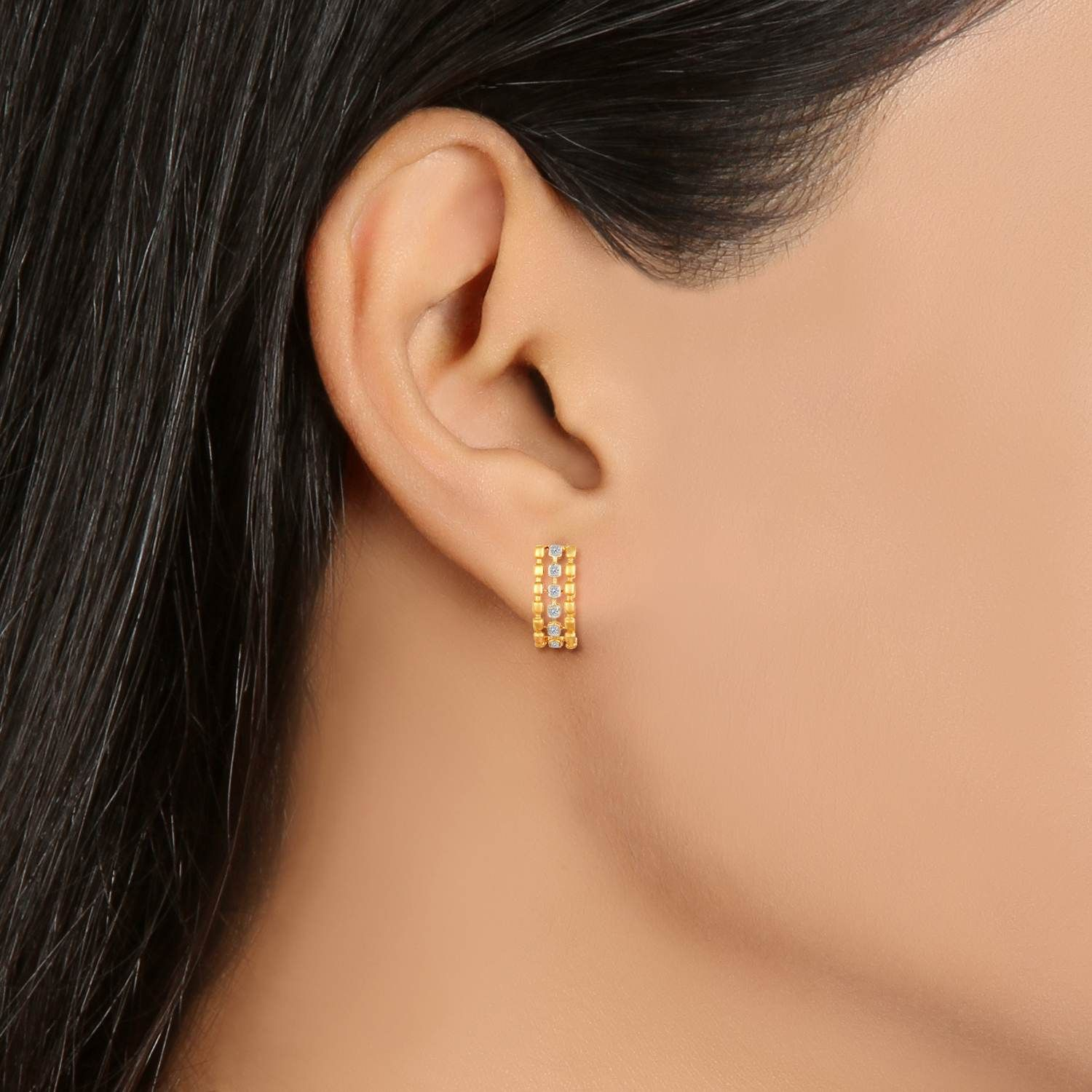 tanishq | Accessorize! | Pinterest | Gold studs and Gold