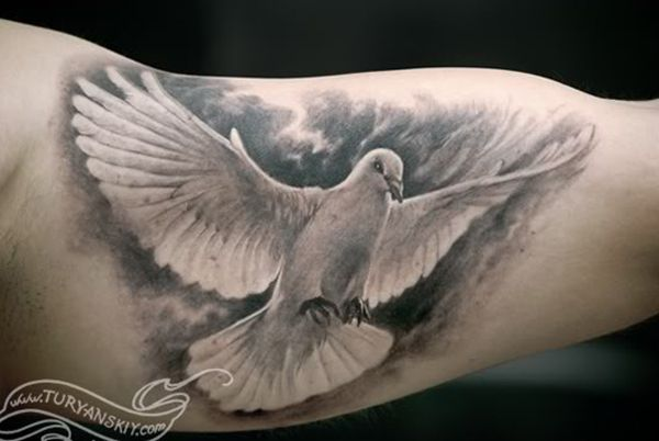 55 Peaceful Dove Tattoos Cuded Dove Tattoos Dove Tattoo White Dove Tattoos
