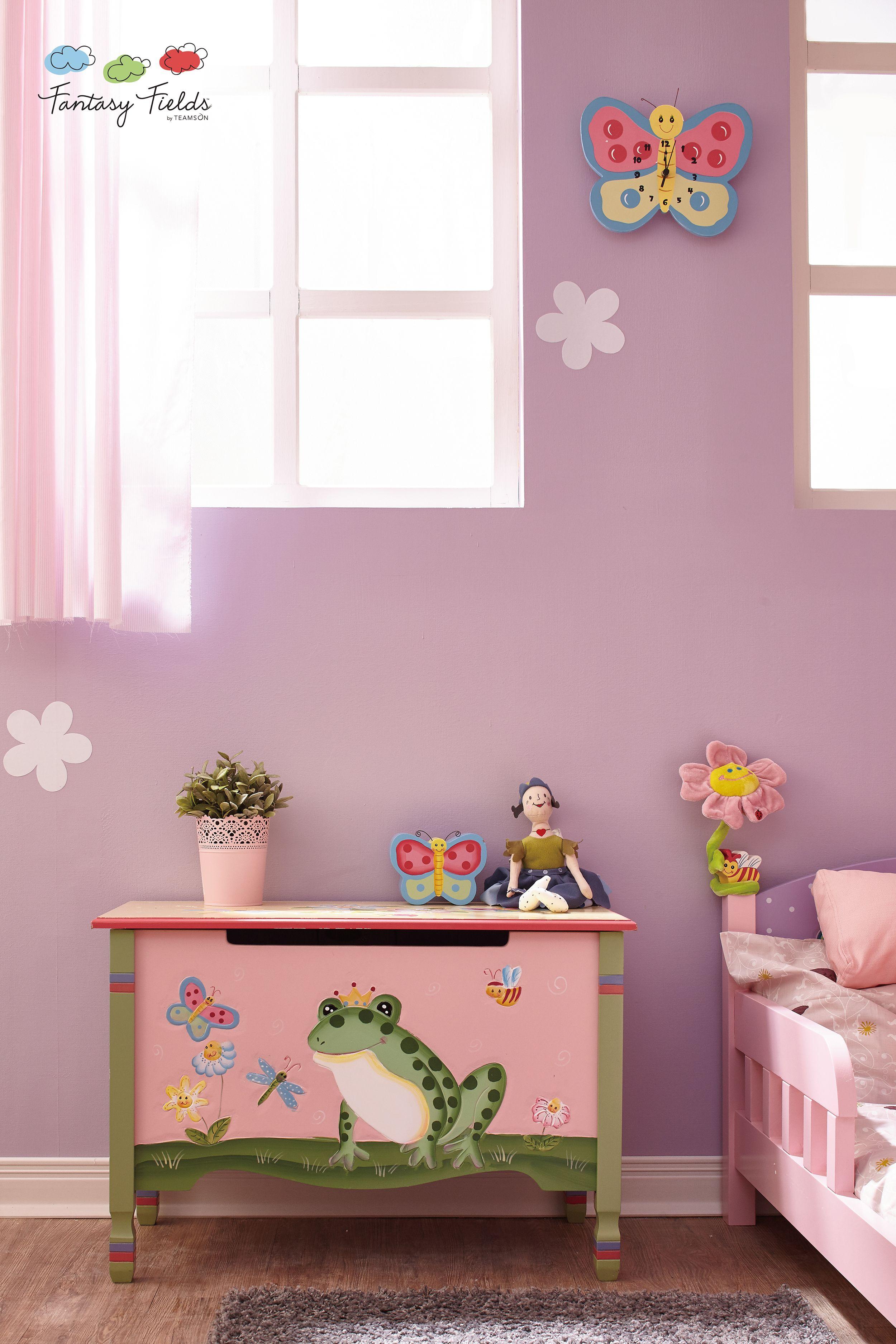 Fantasy Fields Magic Garden Toy Box With Rocking Chair Kid Room Decor Kids Room Kids Room