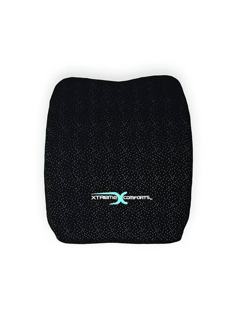 Lumbar back support cushion with images back support