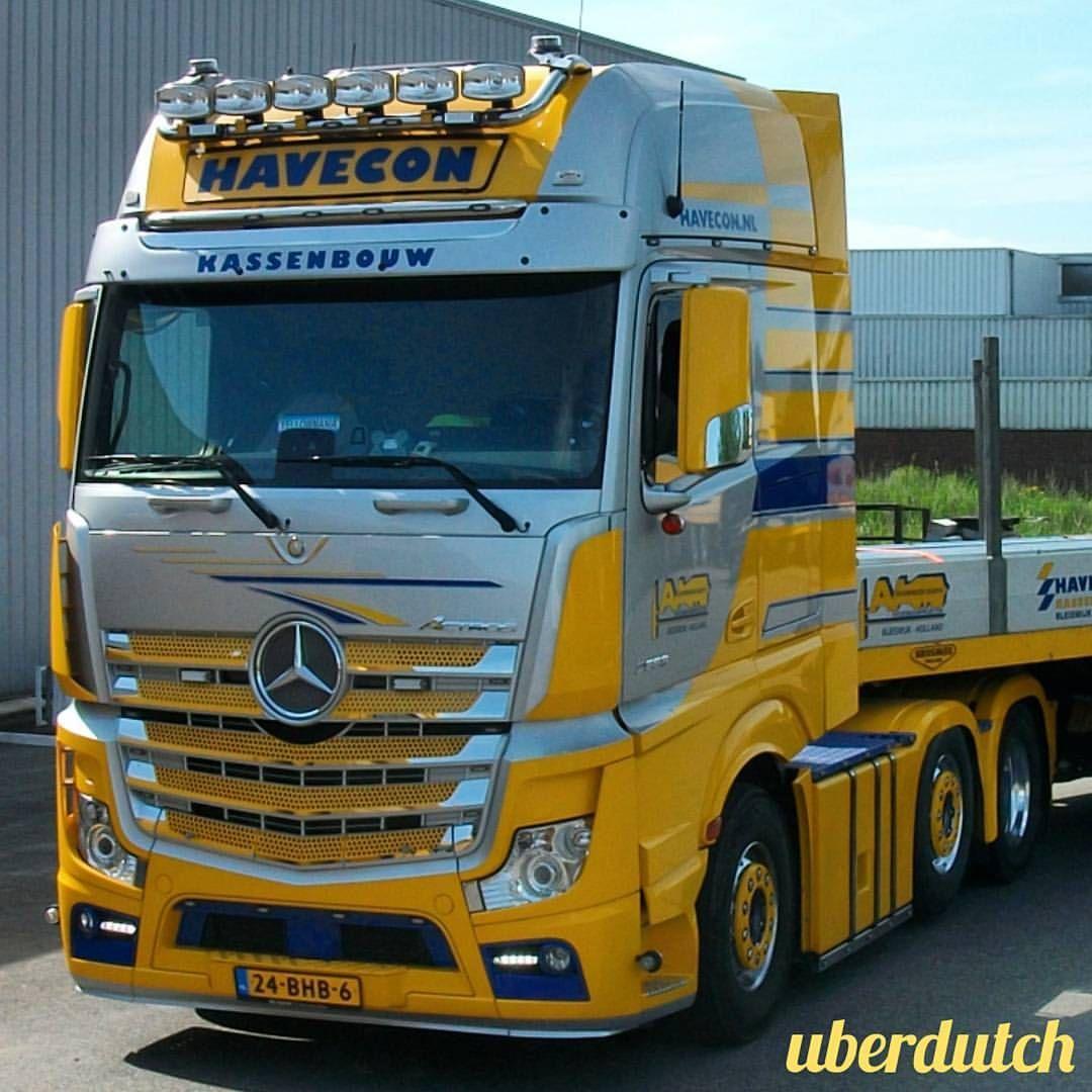 Mercedes-Benz Actros Trucking #Mercedes #MercedesBenz