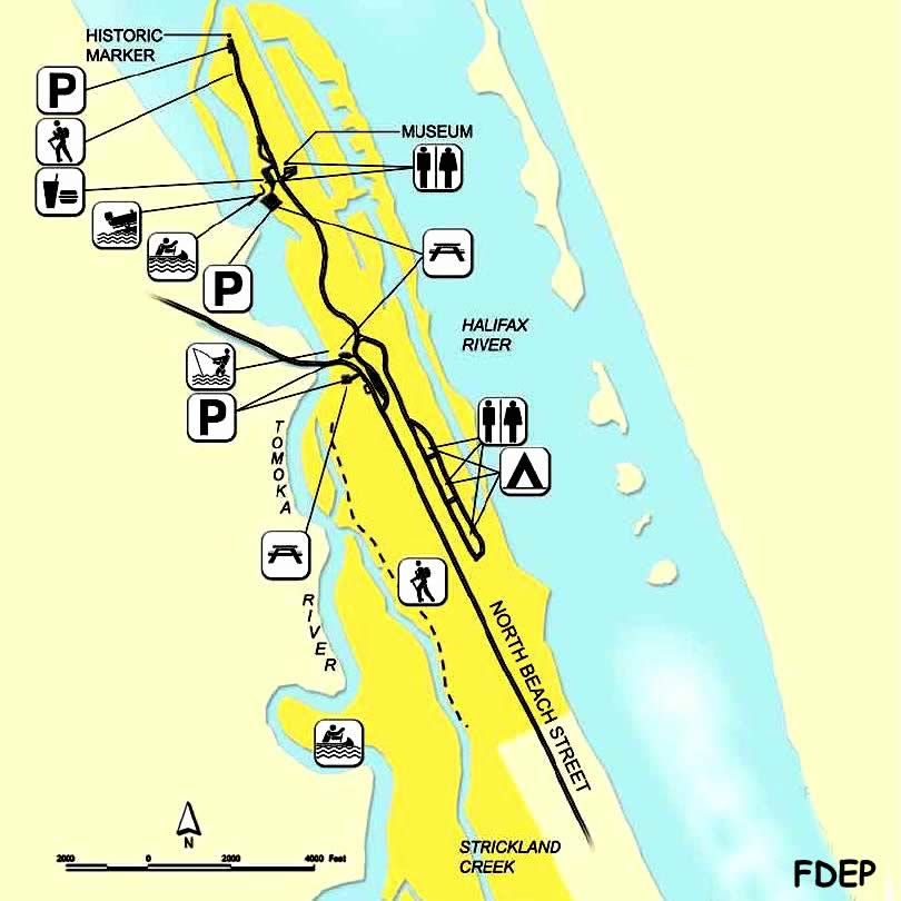 Map Of Florida State Parks.Map Of Florida State Parks To Catch Fish In Volusia County