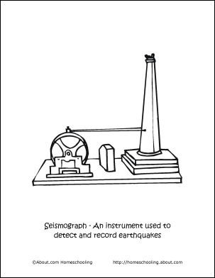 Paul and Silas survives Earthquake coloring page | Free Printable ... | 392x303