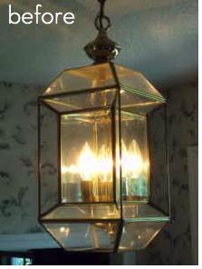 Pb Inspired Craigslist Lamp Makeover Pottery Barn Craigslist Lamp Pendant Makeover Mondays Chandelier Makeover Lamp Makeover Diy Lamp Makeover