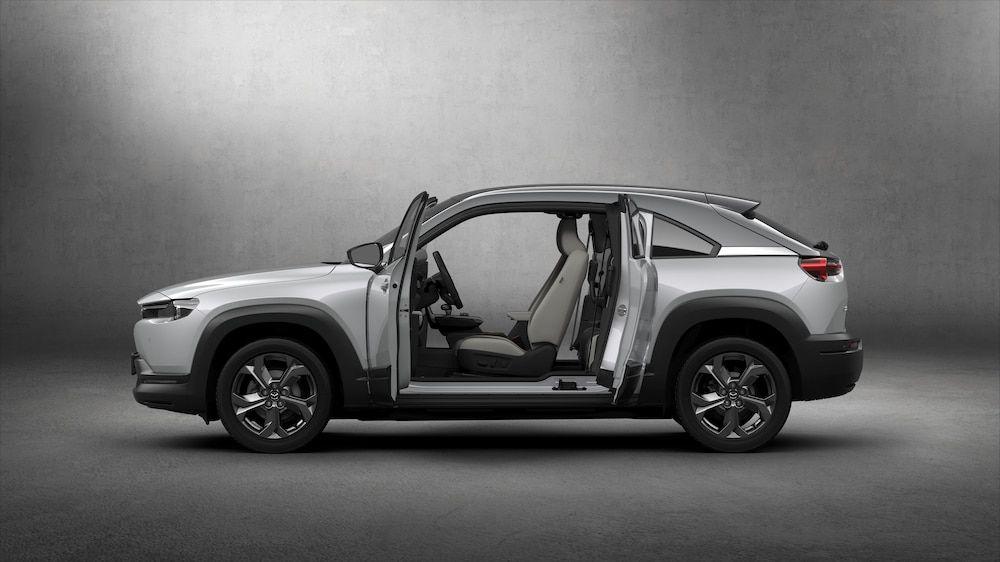 Mazdas Erster Stromer Mx 30 Ist Ein Suv Elektroauto Mazda Elektrisches Auto