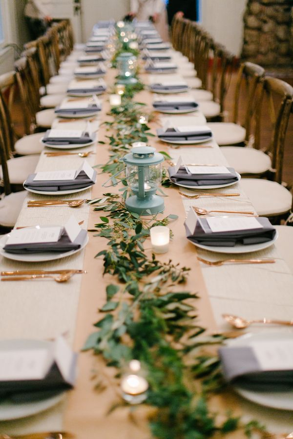 Fogcutter Catering Floral Design Wedding Coordination Event Design Table Runner Garland Event Styling Wedding Catering