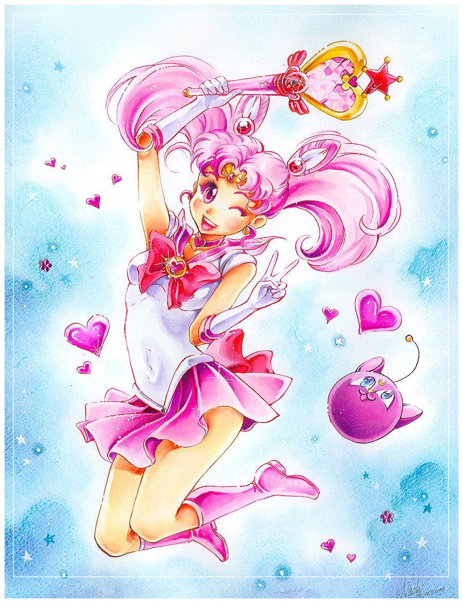 Sailor Chibi Moon | by Naschi @ DeviantART.com // #sailormoon