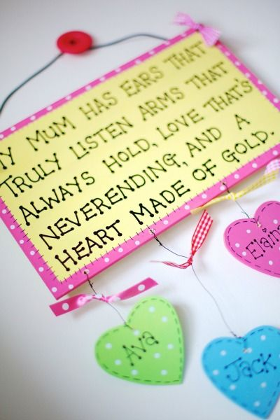 Mother S Day Plaque Mothers Day Crafts Letter A Crafts