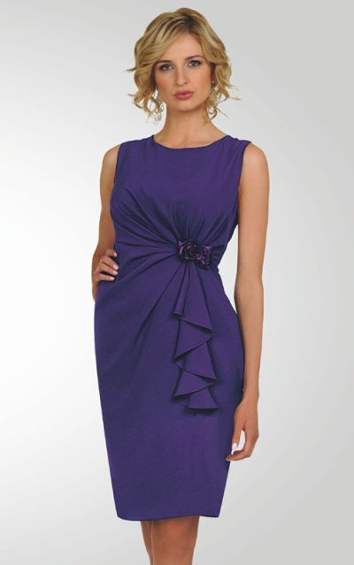 3e2b37fcd08 Stacy Adams Womens Sleeveless Purple Church Dress 78184 by BenMarc ...