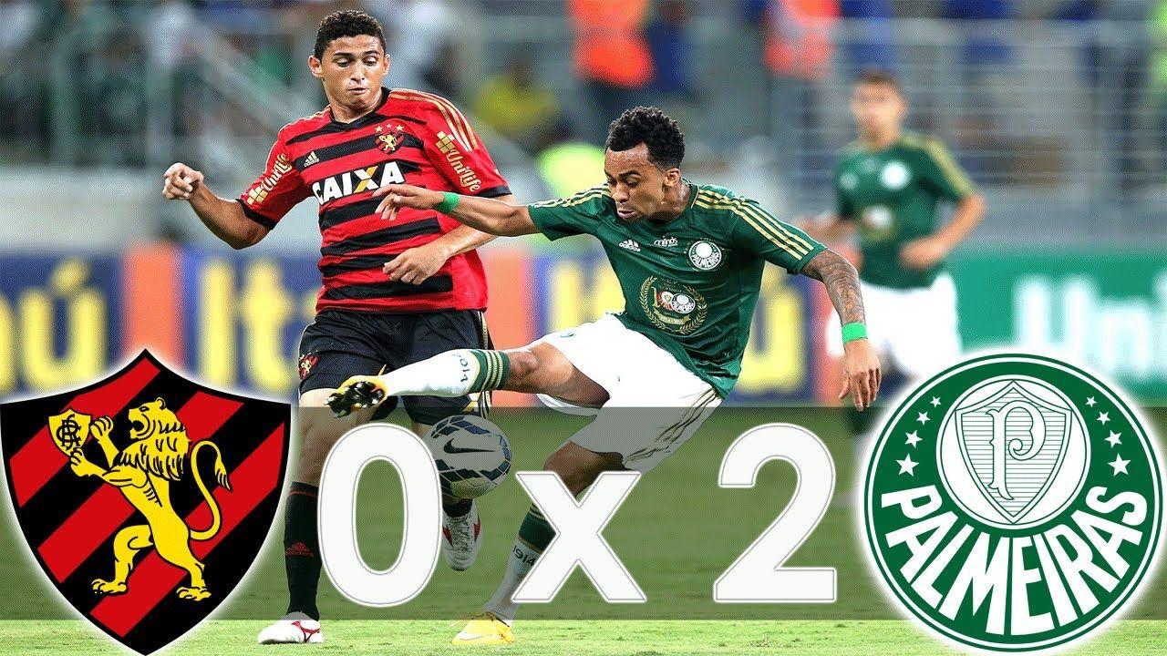 Sport 0 x 2 Palmeiras Melhores Momentos Brasileirão