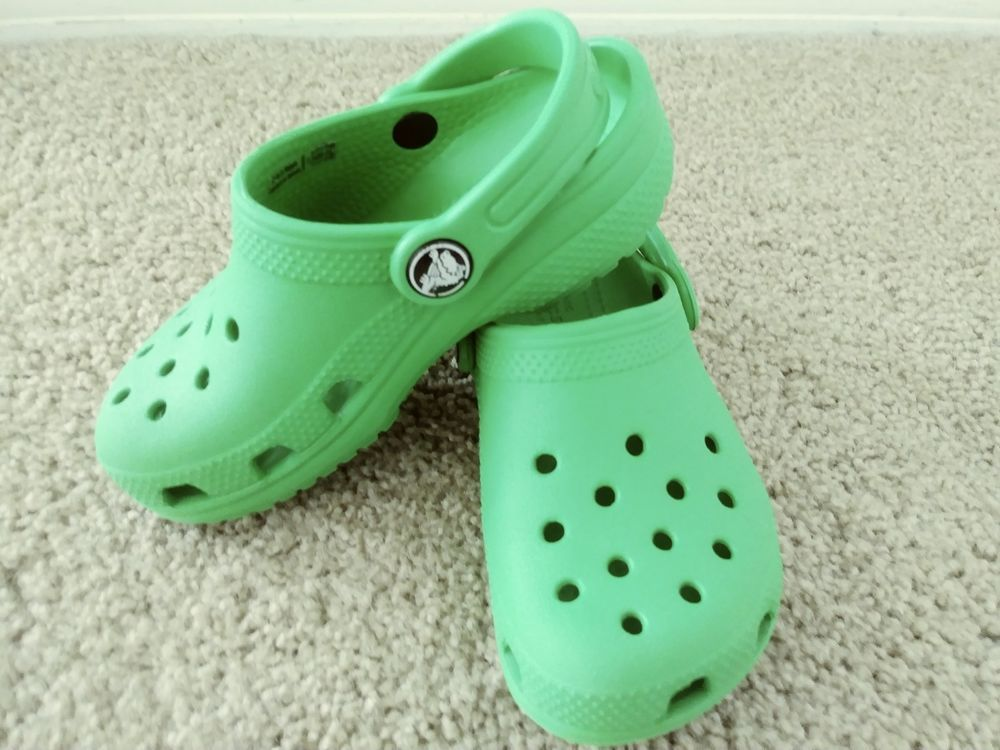 9a72ec1aa0a728 Crocs Kids Classic Clogs Toddler Size 10 Grass Green  fashion  clothing   shoes  accessories  kidsclothingshoesaccs  unisexshoes (ebay link)