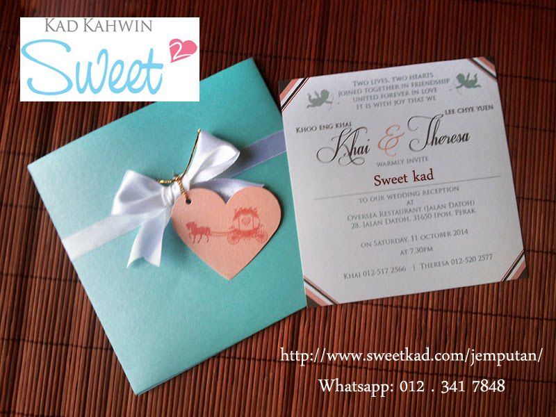 Sweet Kad Is The Perfect Option For You Because Our Team Of Jemputan Malaysia Designers Work Hard To Wedding Card Design Wedding Invitation Cards Wedding Cards